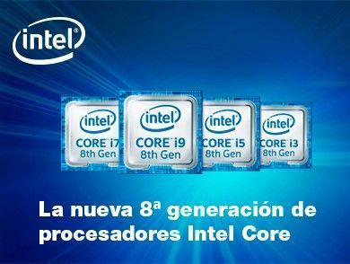 Procesadores Intel Coffee Lake